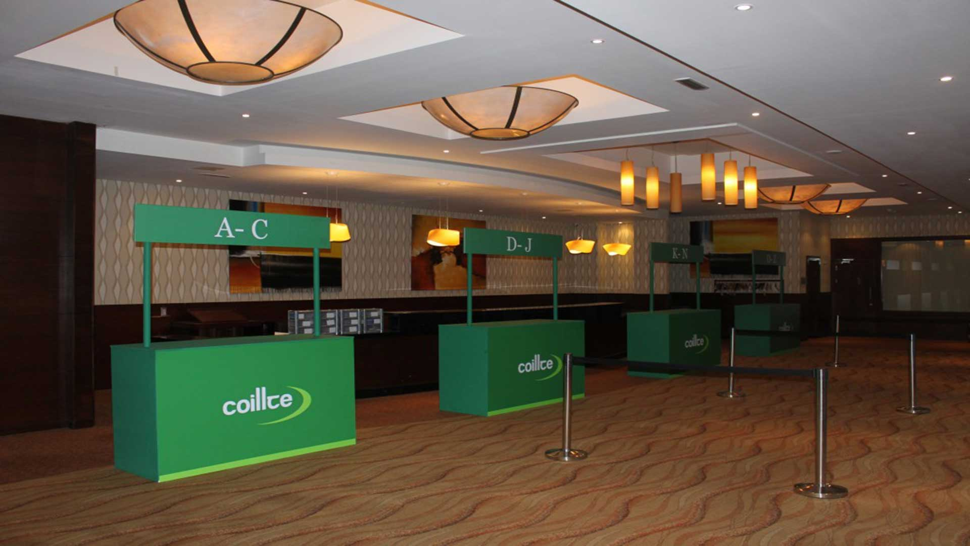 Registration-desk