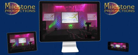 Webcasting service for corporate events